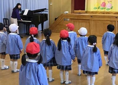 安井音楽教室、保育園、幼稚園、こども園への出張の写真