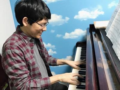 ピアノレッスンの写真
